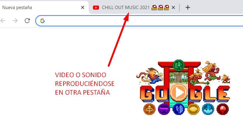música en google chrome