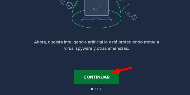 antivirus en la computadora
