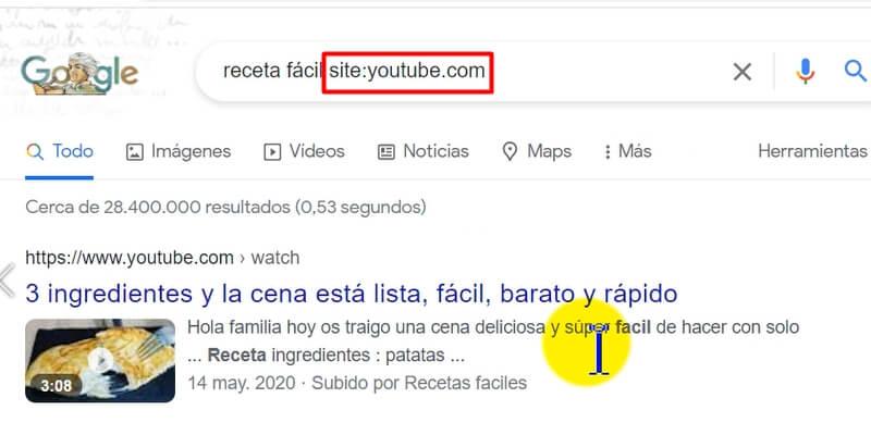 mejores resultados en Google