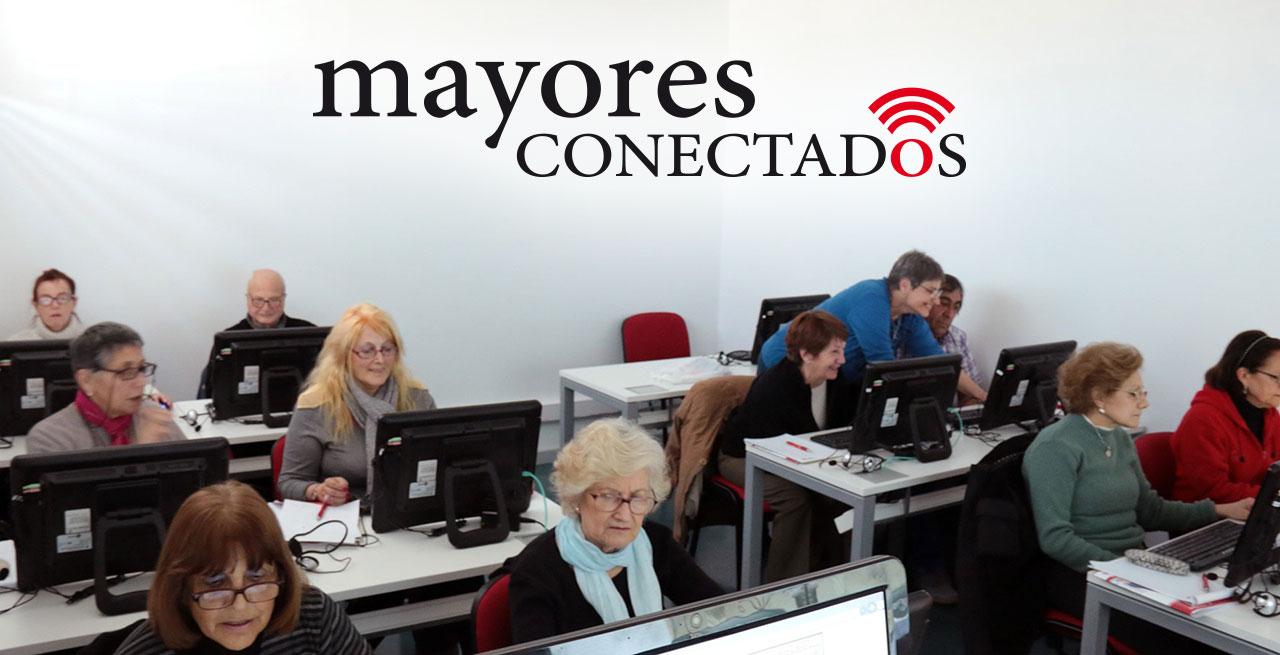 Cursos presenciales gratuitos de Mayores Conectados