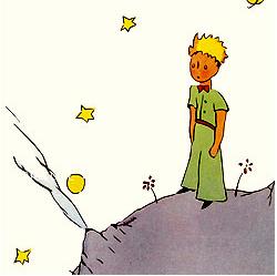 Ilustración de Saint-Exupéry para El principito (1943)