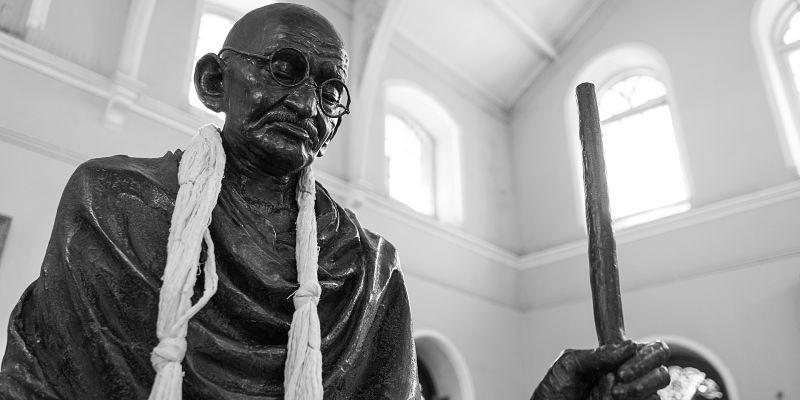 Gandhi expresó la importancia de tener buen humor a diario